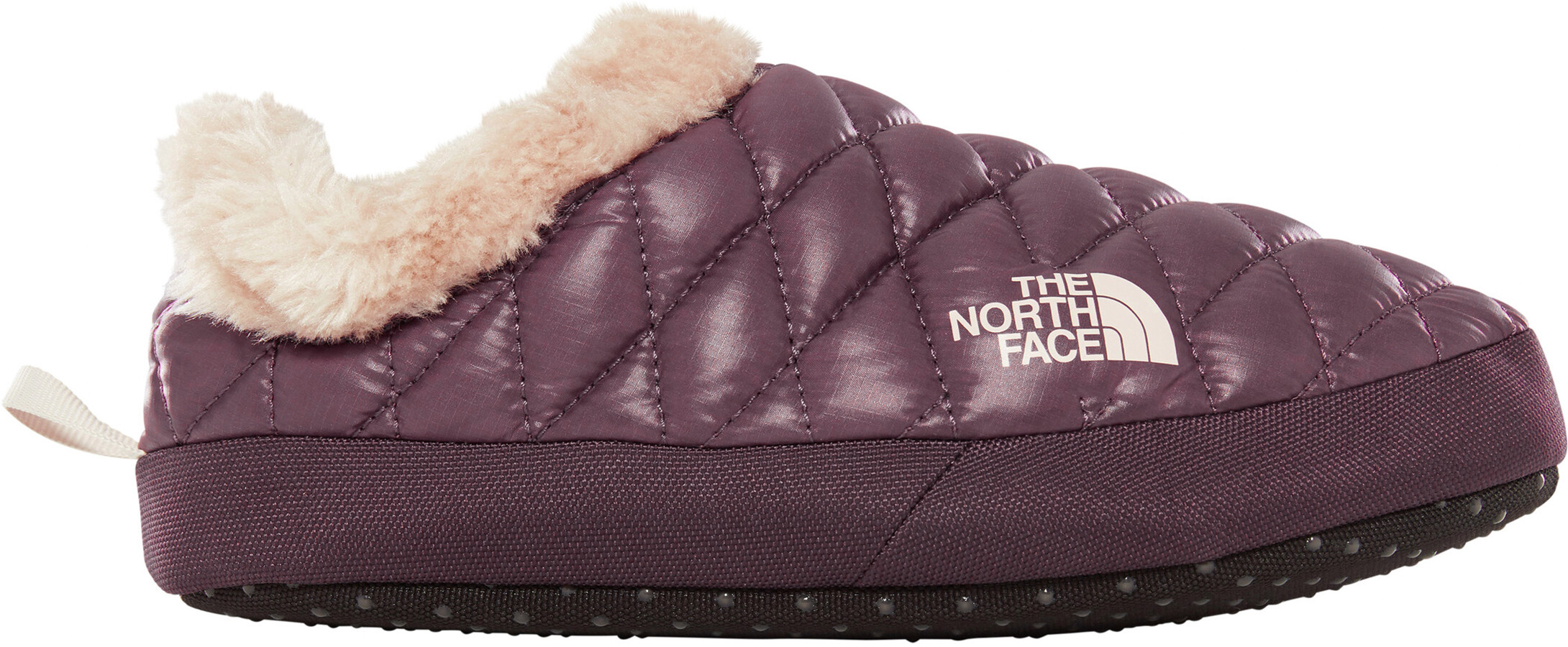 dfe530db3 The North Face ThermoBall Tent Mule Faux Fur IV Shoes Women shiny  fig/vintage white